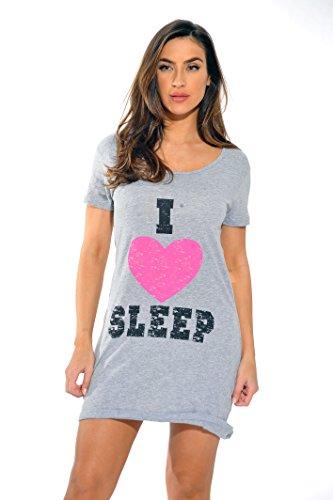 Mama Baseball Jersey (Just Love Schlafkleid für Damen - - X-Large)
