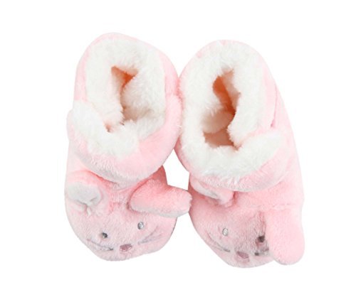 0 Babyschuhe amp; Monate Rosa 6 Weiß Puschen Mädchen Krabbelschuhe Générique gfqwnUcY5q