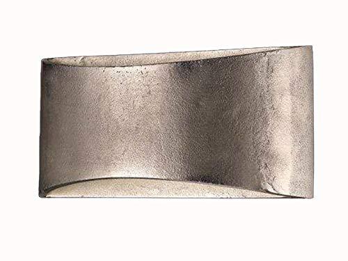 Wandleuchte 2-flg.- SHINE - ALU nickel antik (Antik-bits)