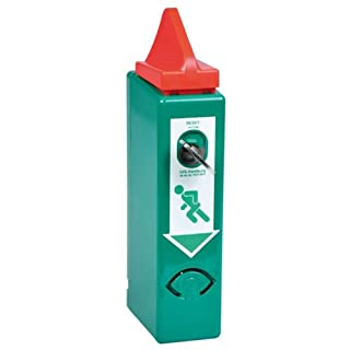 EH-Türwächter mit Voralarm-Modul für Panikstange, EN 179, grün