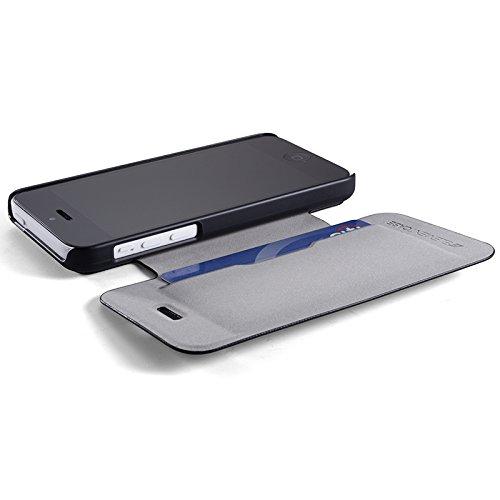 Element Case API5-2011-5L00 Soft Tec Case für Apple iPhone 5/5S braun/grau braun/grau
