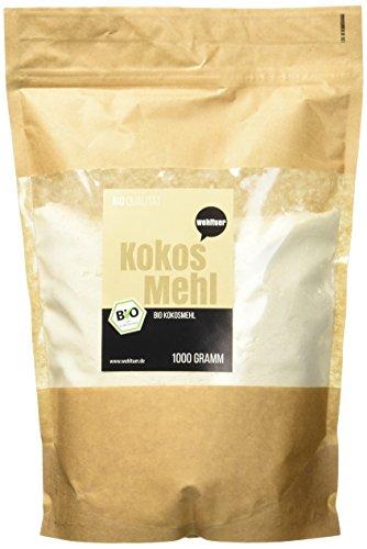 Image of Wohltuer Bio Kokosmehl geprüfter Bio-Qualität,  1kg