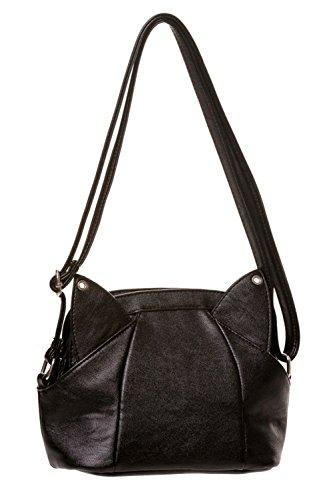 Gebannt Katzen-Tasche Black