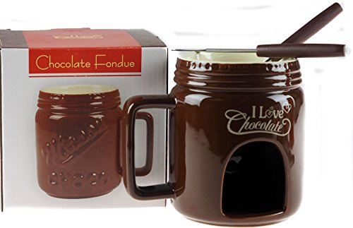 Schokolade Fondue Becher - Geschenk-set Schokolade-becher