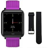 Lixada Smart Sports Pulsera Elegante Reloj Extra Pulsera Paso Calorías Distancia Ritmo Cardíaco (púrpura)