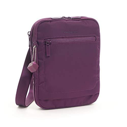 Hedgren Damen Trek Vertical Crossbody Bag, Slim Profile, Rfid Blocking Umhängetasche purple passion Einheitsgröße Trek Messenger