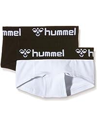 Hummel Chica Pantalones Cortos De Signo De 2Pack Mini, todo el año, niña, color Varios colores - blanco/negro, tamaño 12