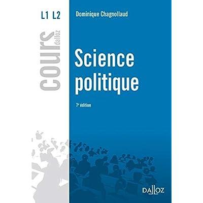 Science politique - 7e éd.: Cours
