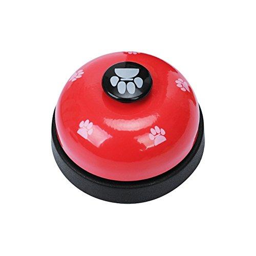 Kayi Hunde Anruf Glocken für die Ausbildung von Topf Pfote Ringer bedruckt Spielzeug Interaktive Stromversorgung Zeit -