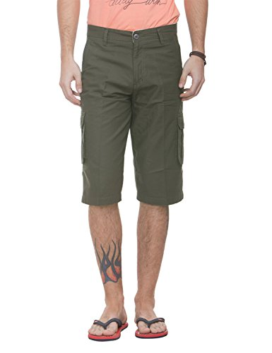 Live In Men's Regular Fit Casual Three Fourth For Men