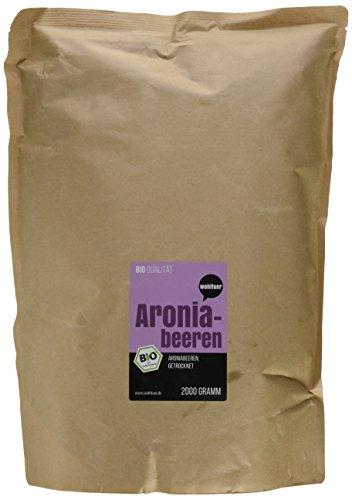 Wohltuer Bio Aronia Beeren, 1er Pack (1 x 2 kg)