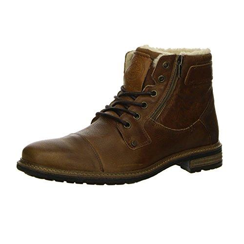 Kim Kay Herren Combat Boots Braun