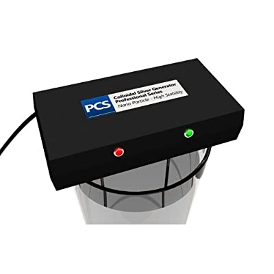 PCS Colloidal Silver Generator - Professional Series (Includes 2 x 6 Inch Silver Rods)