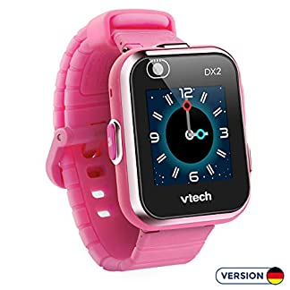 VTech Kidizoom Smart Watch DX2 – Reloj inteligente para niños, color rosa, versión Alemana (80-193854)