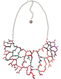 Desigual - Collier court - Plaqué argent - Global Traveller - 48 cm - 72G9EJ13160U
