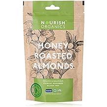 Nourish Organics Honey Roasted Almonds 100Gr