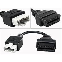 5Pines para OBD Obd216pin conector para coche Motor herramienta de diagnóstico Cable adaptador para Honda