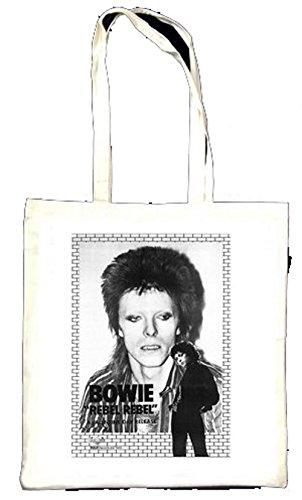 David Bowie Rebel 300D Sac décoré de publicité