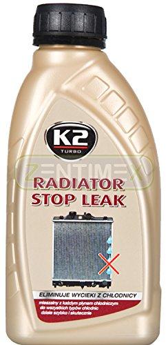 ZentimeX Kühler-Dichtmittel Kühlerdichter Kühlerdicht Kühlerdichtung Leck-Dichtungsmittel Kühlwasserverlust Alu-Mikroteilchen flüssig 0,4l