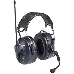 3M MT7H7A4410-EU - Lite-Com Plus, PMR 446, diadema mic dinámico (Reacondicionado Certificado)