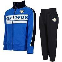 Inter Tuta Zip Ufficiale Bambino F.C (S, 4 Anni)