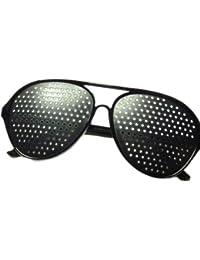 NERD® Pilotenbrille Lochbrille Rasterbrille