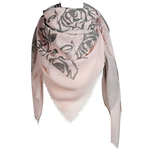 Glamexx24 XXL Schal wunderschoenen Tuch mit schönen Designs Poncho in Tausenden Form fuer jeden Tag