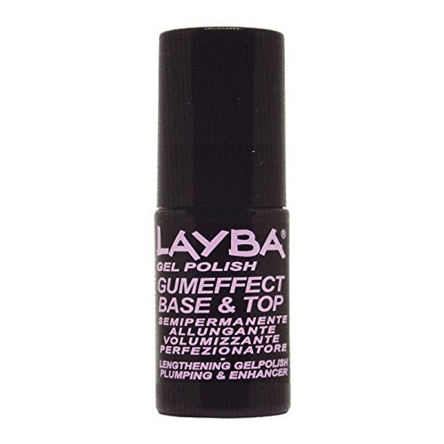 LAYLA LAYBA SMALTO GEL POLISH GUMEFFECT BASE & TOP COAT