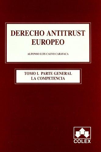 Portada del libro Derecho antitrust europeo 1ª ed.