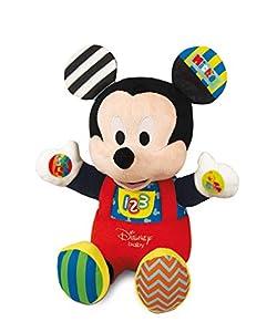 Clementoni - Peluche de Actividades Disney Baby Mickey