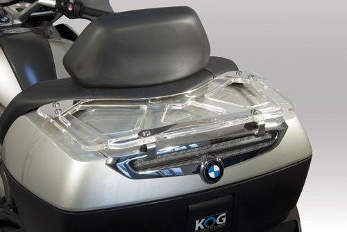 Isotta Portaequipajes trasero para K1600 GT/GTL 2010 -2016 R1200RT - plexiglass