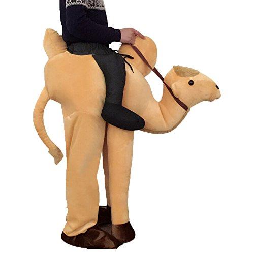 Imagen de disfraces divertidos fantasticos traje con falsas piernas costume para adultos fiesta carnaval avestruz