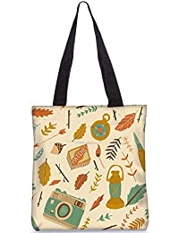 Snoogg Tote Bag 13.5 X 15 Inches Shopping Utility Tote Bag Made From Polyester Canvas - B01GCIKWVA