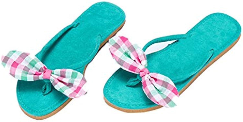 Slipper Clip Toe EVA Slip-On Casual Encantador para Mujer/Damas/Chicas Sandalia Plana en Vacaciones de Verano...