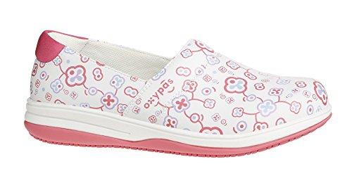 Oxypas Suzy, Women's Safety Shoes, White (Flr), 5.5 UK (39 EU)