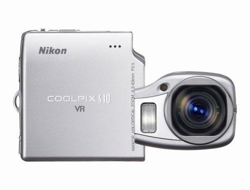 Nikon New Coolpix S10 6MP Digital Camera 10x Zoom - Vibration Reduction (25555) Nikon Coolpix Point