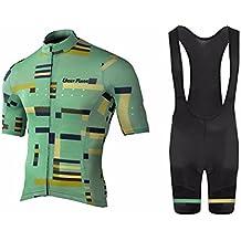 Uglyfrog #N02 Bike Wear Ciclismo Hombres Maillots Sports+Bib Tight Sets Seco y transpirable de Bicicleta Conjunto de Ropa de Ciclo Jersey de manga corta