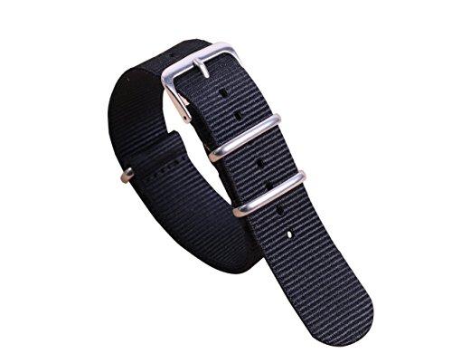 14 millimetri in un unico pezzo cinturini per orologi stile NATO nylon...