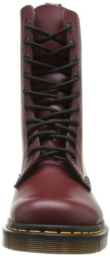 Dr. Martens 1490, Boots mixte adulte Rouge (Cherry Red Smooth)
