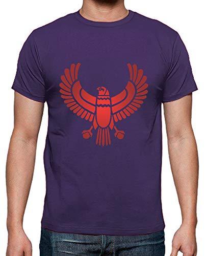 Camiseta Ave egipcia. Camiseta hombre clásica, calidad premium. De muy buen gramaje y de calidad óptima, esta camiseta siempre queda bien. Disponible en un amplio rango de tallas, desde S hasta 5XL en algunos colores. Tallaje y corte español.100% alg...
