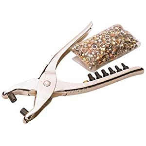 Draper 31096 210mm Interchangeable Hole Punch and Eyelet Pliers
