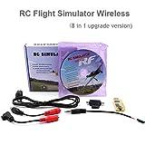 PinBoTronix 8 in 1 RC Flight Simulator Adapter Cable Senza Fili for Realflight G7 Phoenix 5.0 for Flysky i6x i6 FUTABA Radiolink AT9s AT10