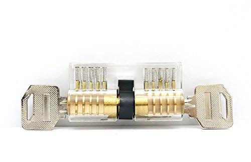lockmall Formazione professionale Cutaway interno di lucchetti con chiave di blocco per fabbro Formazione, 1