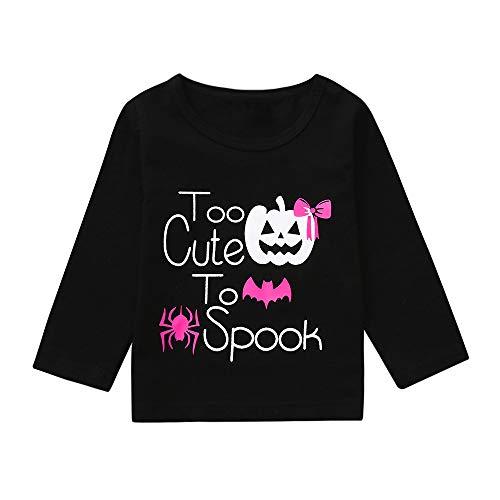 Baby Schwestern Body Strampler Jungen Mädchen Neugeborenen Langarm Karikatur Strampler Overall Shirt Tops Säugling Spielanzug Baby-Nachtwäsche Halloween Kostüm von Innerternet