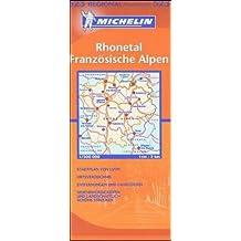 Michelin Karten, Bl.523 : Französische Alpen