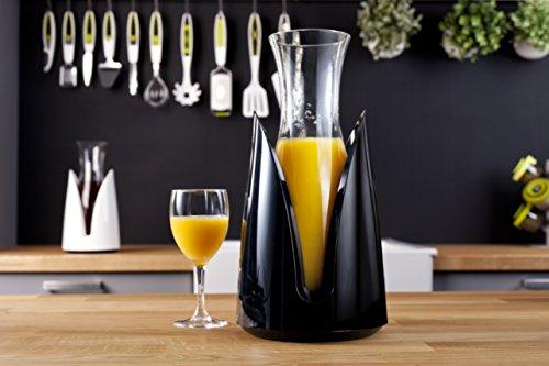 Vacu Vin 3645460 - Jarra enfriadora, permite enfriar bebidas instantáneamente sin hielo, color negro