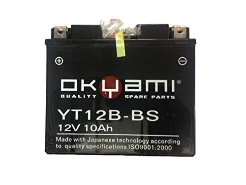 Batteria OKYAMI YT12B-BS YT12BBS