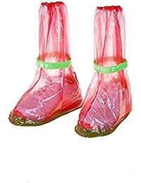 Univegrow - Cubrecalzado de Otra Piel adultos unisex, color transparente, talla S