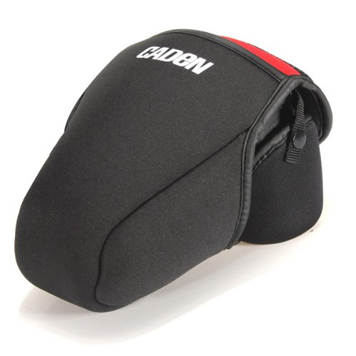 Custodia protettiva in neoprene per fotocamera reflex Canon, Nikon o Sony