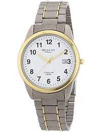 Regent Herren-Armbanduhr XL Analog Titan 11090231